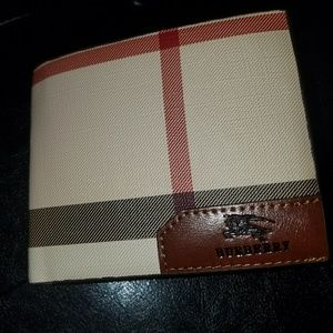 Other - Burberry Wallet
